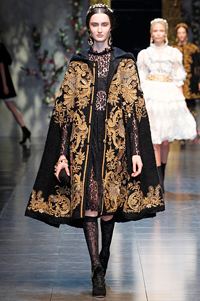 Dolce&Gabbana - Women's Ready-to-Wear - 2012 Fall-Winter