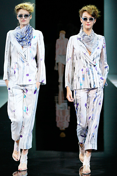 Giorgio Armani - Women's Ready-to-Wear - 2014 Spring-Summer