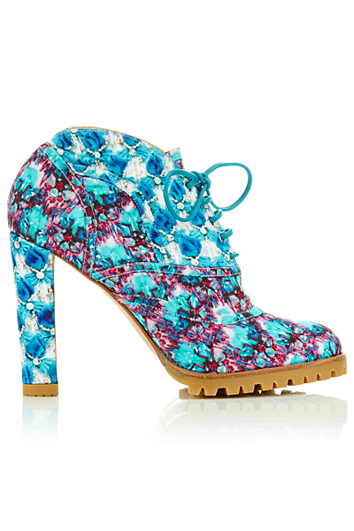 Mary Katrantzou - Shoes - 2014 Spring-Summer