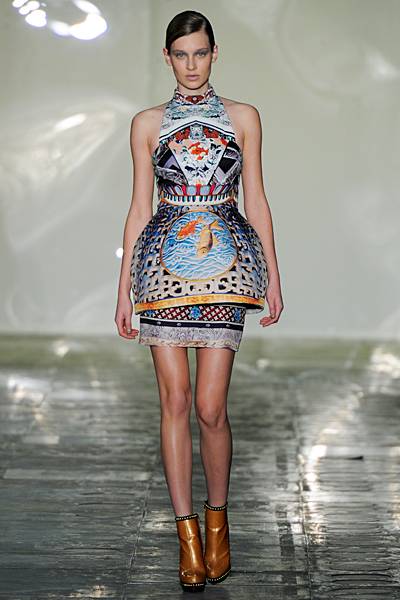 Mary Katrantzou - Ready-to-Wear - 2011 Fall-Winter