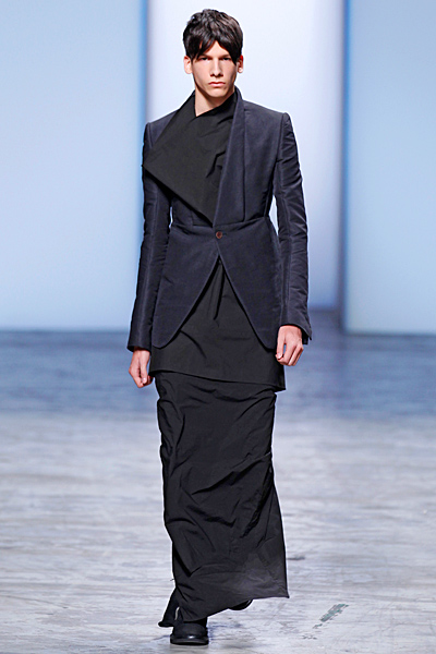 Rick Owens - Men's Ready-to-Wear - 2012 Spring-Summer