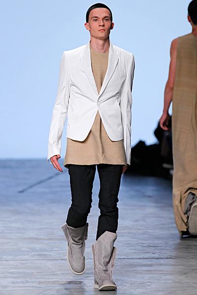Rick Owens - Men's Ready-to-Wear - 2012 Spring-Summer